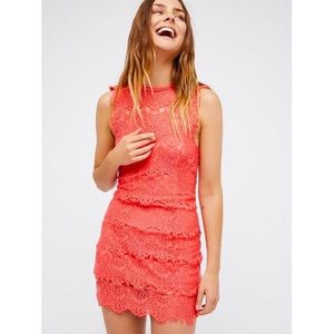 NWT📌Free People Lace Bodycon Daydream Dress